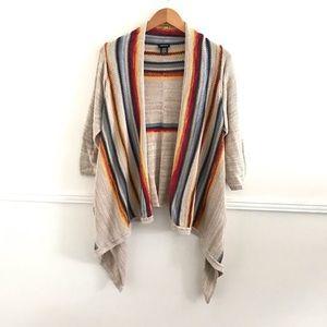 Torrid knit cardigan sz:2X colorful gray Fall